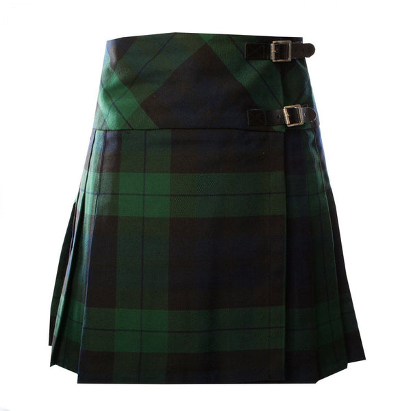 Traditional Highland Scottish Black Watch Ladies kilt