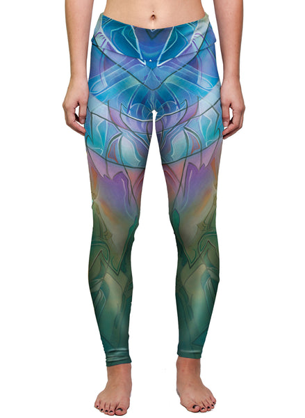 """THE SUN SHINES FOR ALL WITHOUT RESERVATION"" WOMEN'S ACTIVE LEGGINGS"