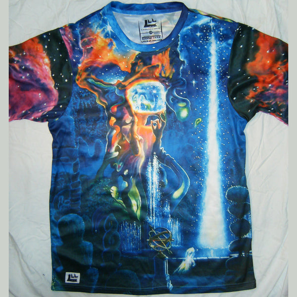 The Garden In The Valley Of The Stars - Short Sleeve T-Shirt - Lit Like LUMA - Future Fashion and Modern Innovations - 4