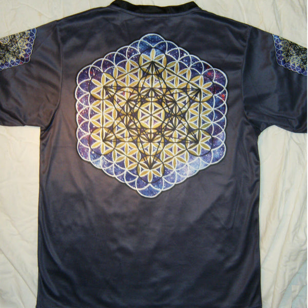 Metatron - Short Sleeve T-Shirt - Lit Like LUMA - Future Fashion and Modern Innovations - 5