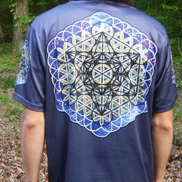 Metatron - Short Sleeve T-Shirt - Lit Like LUMA - Future Fashion and Modern Innovations - 2