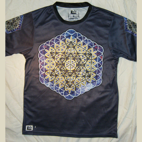 Metatron - Short Sleeve T-Shirt - Lit Like LUMA - Future Fashion and Modern Innovations - 4