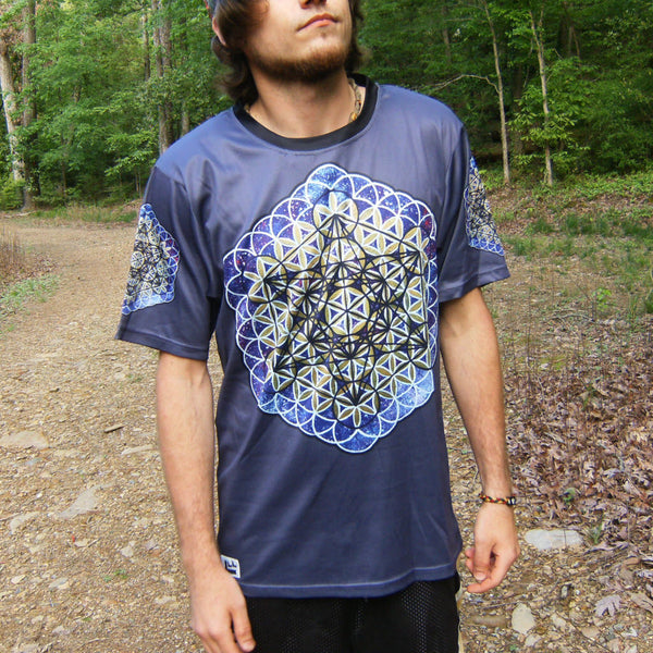 Metatron - Short Sleeve T-Shirt - Lit Like LUMA - Future Fashion and Modern Innovations - 1