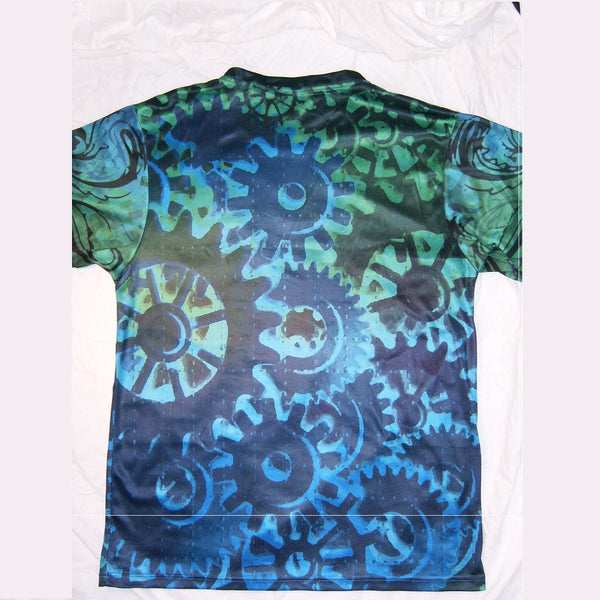 Trippy Gears - Short Sleeve T-Shirt - Lit Like LUMA - Future Fashion and Modern Innovations - 5