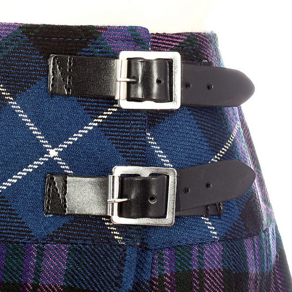 Ladies Pride of Scotland Tartan Scottish Micro Mini Billie Pleated Kilt