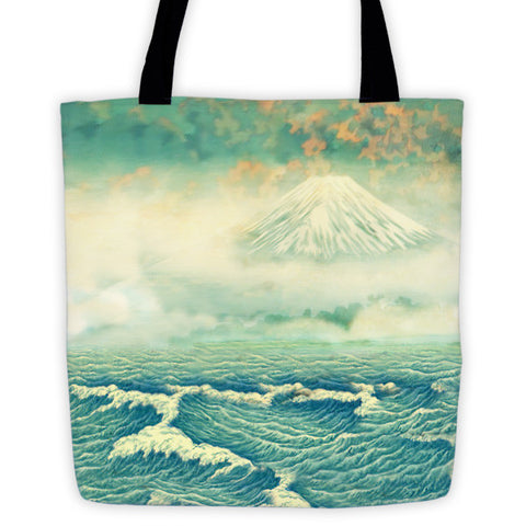 'Returning to Naira' Tote bag by Kijiermono