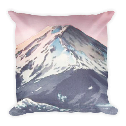 'The Kawaguchi Trail' Pillow by Kijiermono