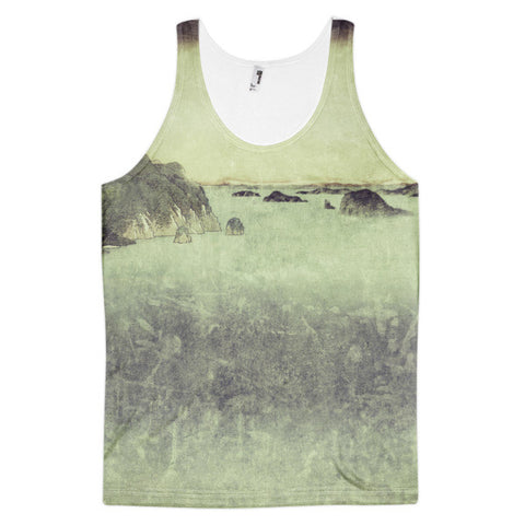 'Long Ways to Inchen' Classic fit tank top (unisex) by Kijiermono