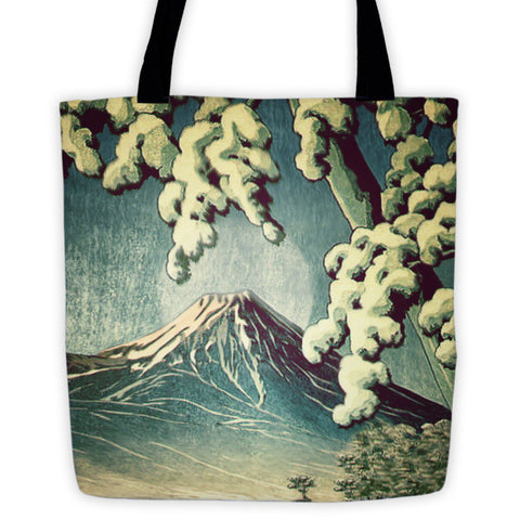 '5 Lakes at Moonlight' Tote bag by Kijiermono