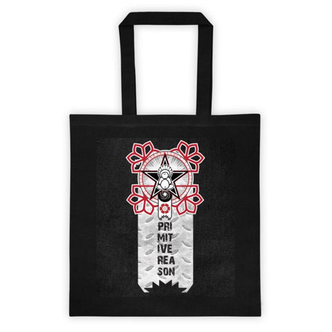 'A Flower For Revolution' Tote bag by Eye-Rebel for Primitive Reason