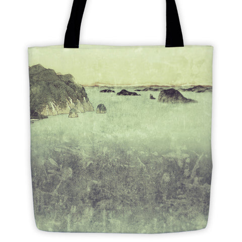 'Long Ways to Inchen' Tote bag by Kijiermono