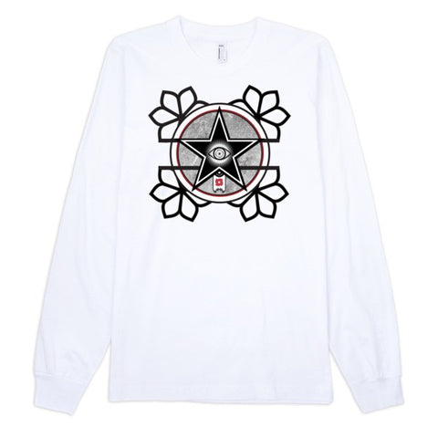 'The All-Seeing Eye' Long sleeve t-shirt (unisex) by Eye-Rebel for Primitive Reason