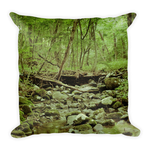 'Find My Way Home' Pillow by Momotaro Photography