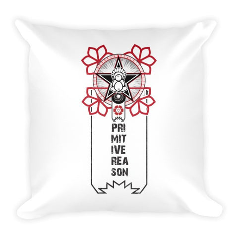 'A Flower For Revolution' Pillow by Eye-Rebel for Primitive Reason