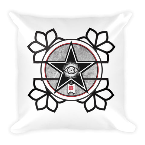 'The All-Seeing Eye' Pillow by Eye-Rebel for Primitive Reason