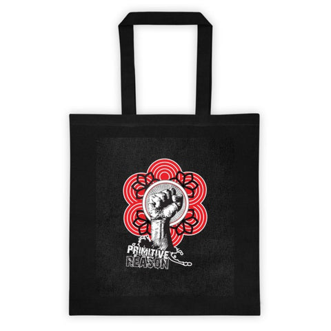 'Fist of Fury' Tote bag by Eye-Rebel for Primitive Reason