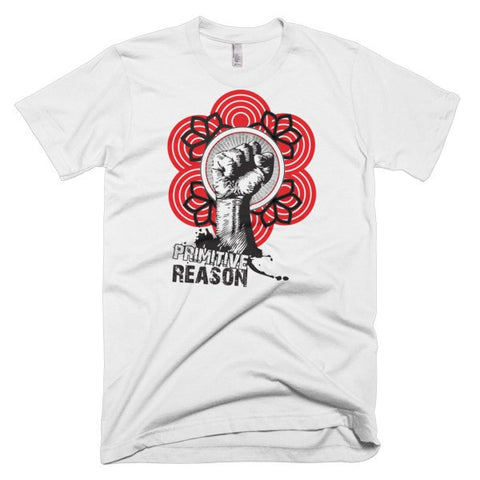 'Fist of Fury' Short sleeve men's t-shirt by Eye-Rebel for Primitive Reason