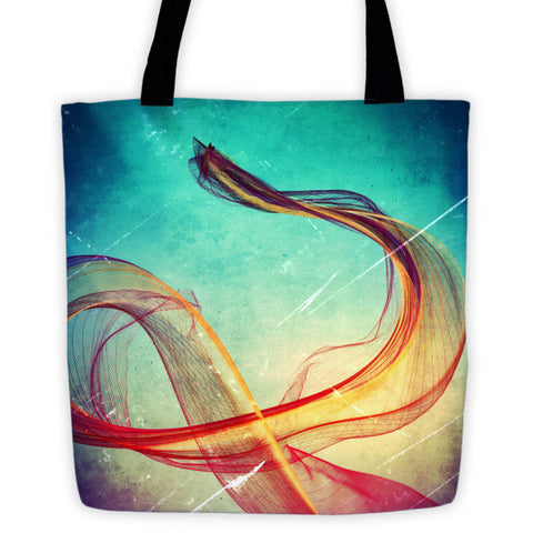 'Travelling' Tote bag by Willingthe7