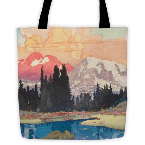 'Storms over Keiisino' Tote bag by Kijiermono