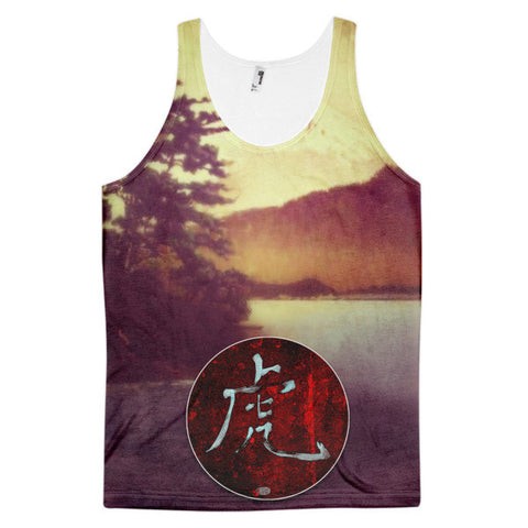 'The Nagahama Tiger' Classic fit tank top (unisex) by Kijiermono