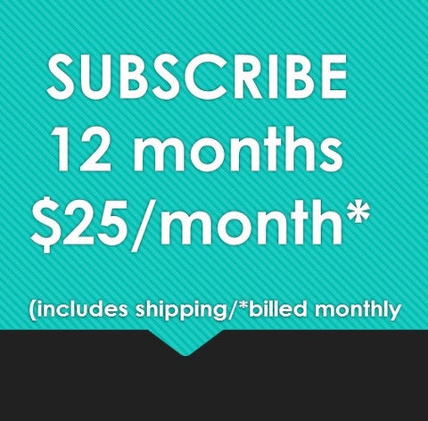 SUBSCRIBE 12 MONTHS