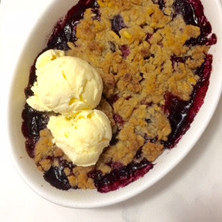 Summer Berry & Granola Crumble