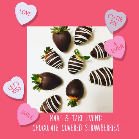Make & Take Chocolate Covered Strawberries Demo