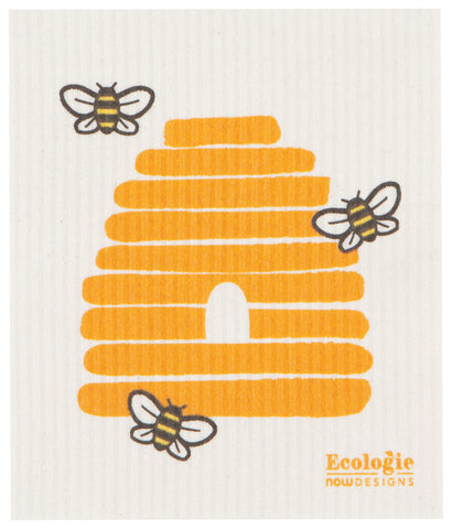 Swedish Dish Cloth - Bees