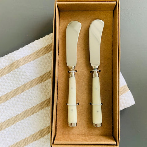 Ivory Cheese Spreader Set