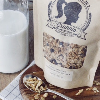 Lovely Lavender Chocolate Chip Granola (10 oz bag)