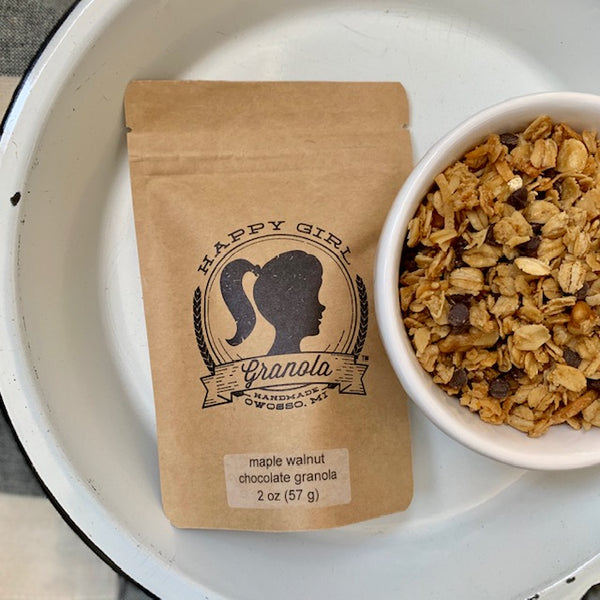 Maple Walnut Chocolate Chip Granola (2 oz)