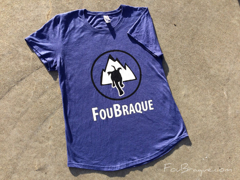 T-Shirt FouBraque: Canicross et Plein Air