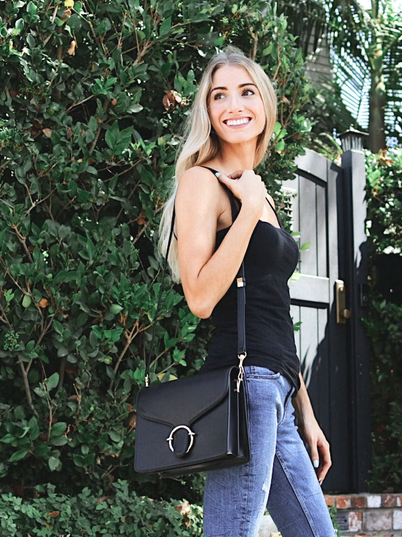 HIELEVEN HALO CROSSBODY BAG by @christinemariestyle