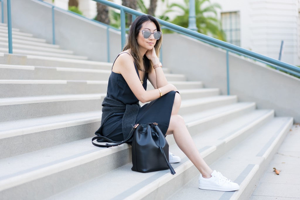 Dressing Down The Slip Dress by @dotsandhoney