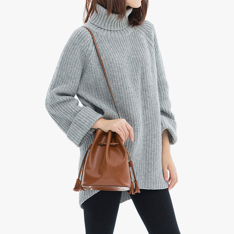 Eleven Mini Bucket Bag - Brown - Shop Now