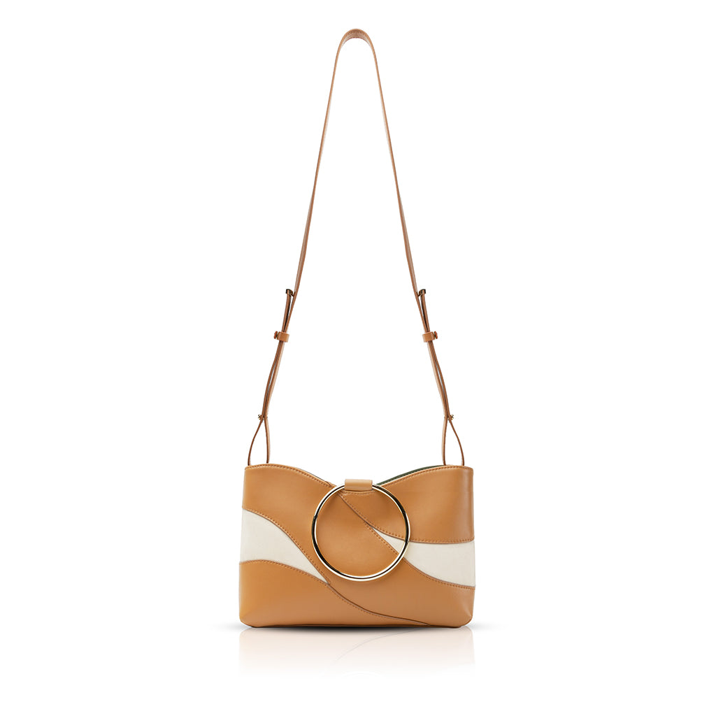 Mila Ring Handle Crossbody Bag - Barcelona Brown