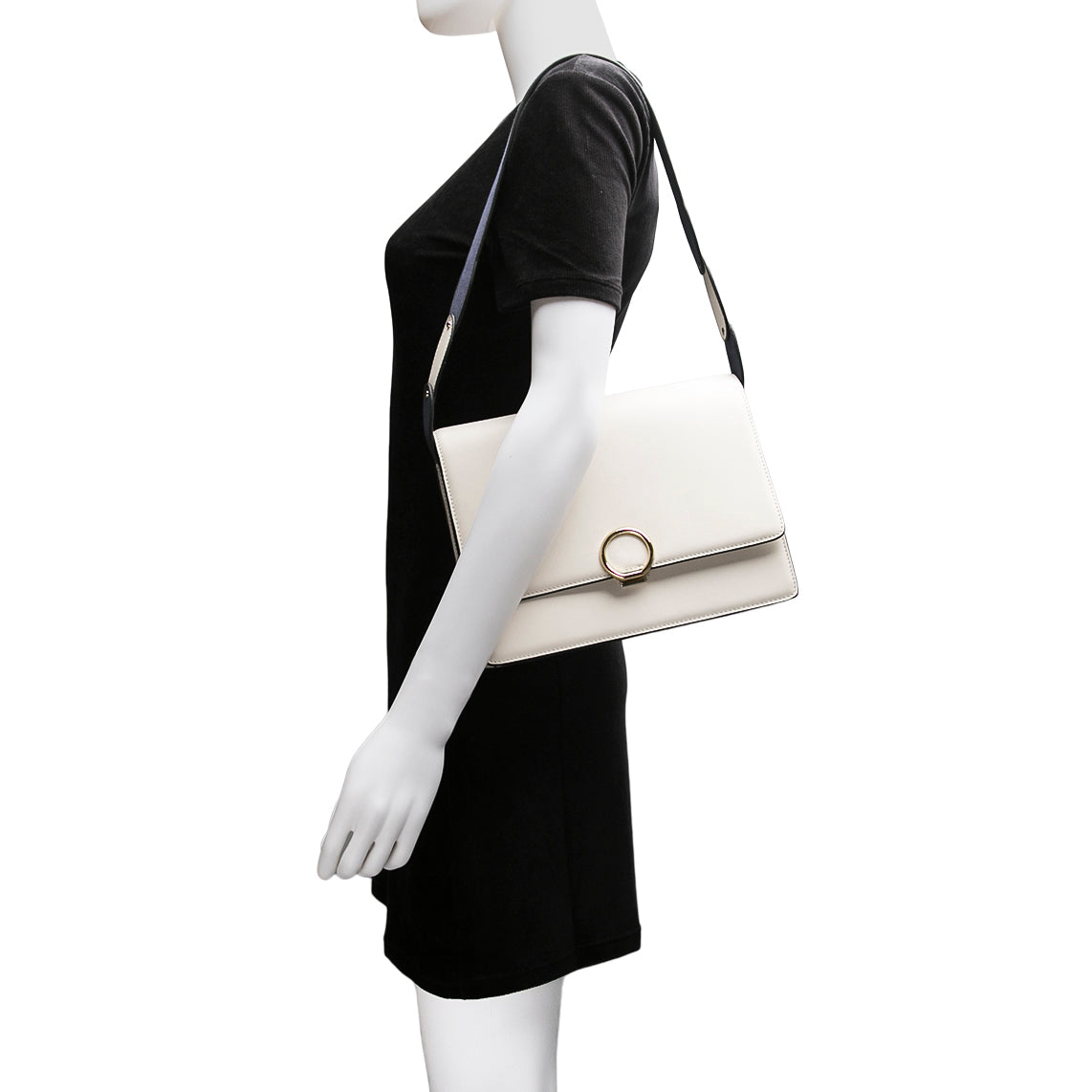 Halo Shoulder Bag - White