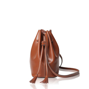 Mini Bucket Bag - Brown