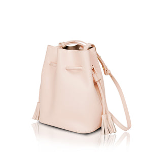 Mini Bucket Bag - Blush Pink