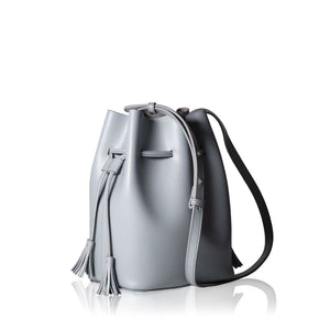 Mini Bucket Bag - Grey
