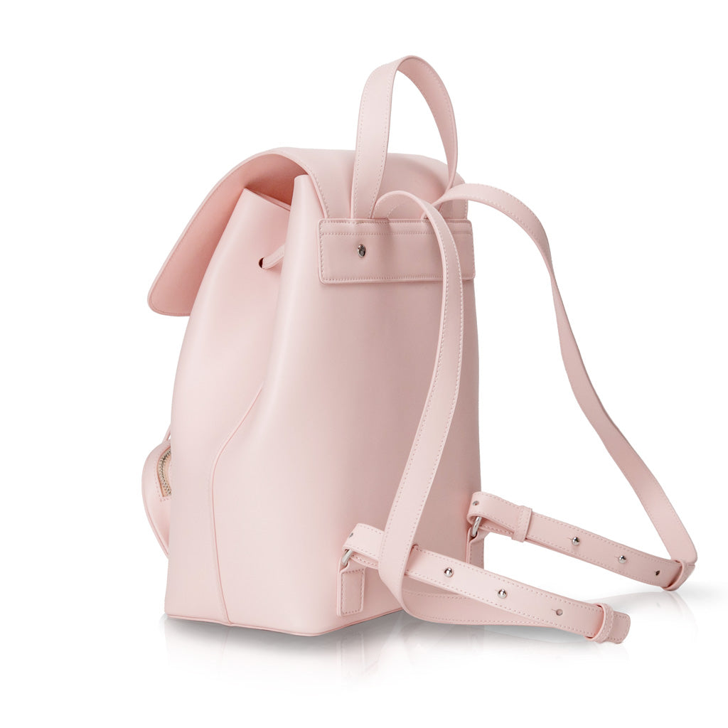 Winona Drawstring Backpack - Baby Pink