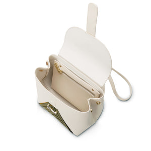 Chiaro Convertible Mini Backpack - Cream