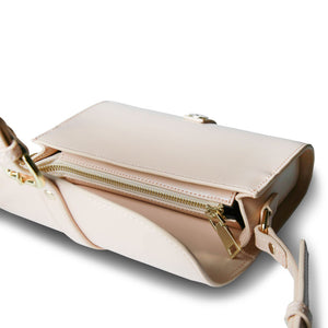 Rollie Crossbody Bag - Blush Pink