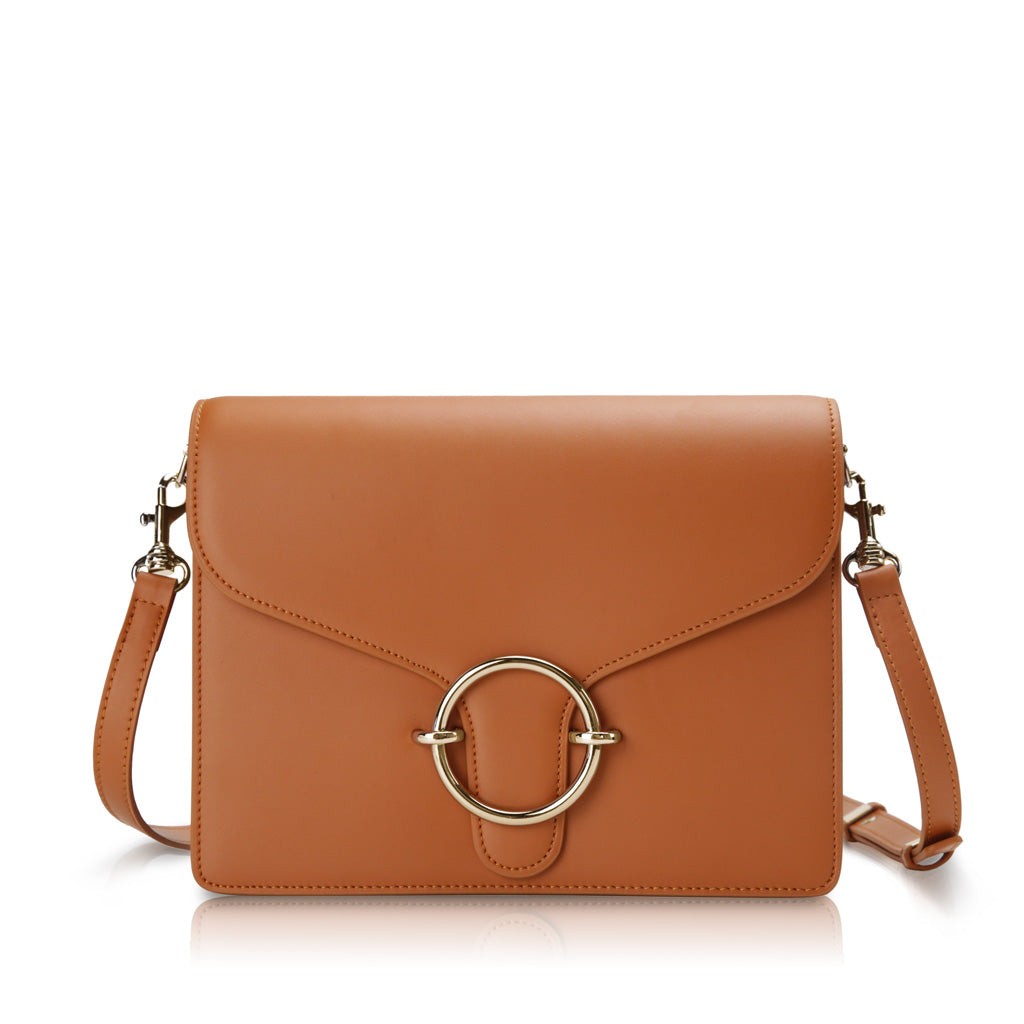 Halo Crossbody Bag - Tan