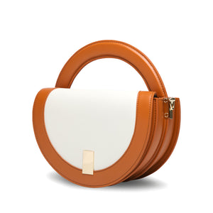 Circle Crossbody Bag - Tan