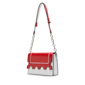Stamp Crossbody Bag - White