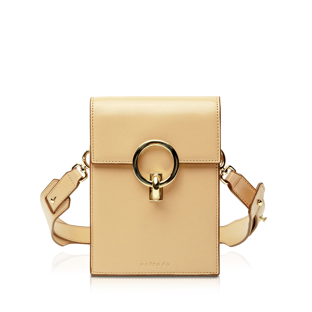 Halo Mini Convertible Belt Bag - Apricot