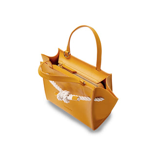 Knot Mini Handbag - Orange