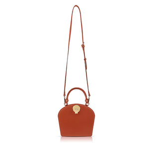 Camille Double-Sided Crossbody Bag - Berry Red