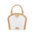 Camille Double-Sided Crossbody Bag - Sandy Brown/Off-White